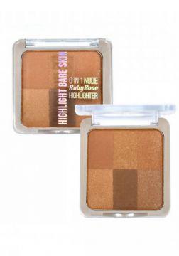 Pó Iluminador Bare Skin By Ruby Rose Hb-7214 Cor 04