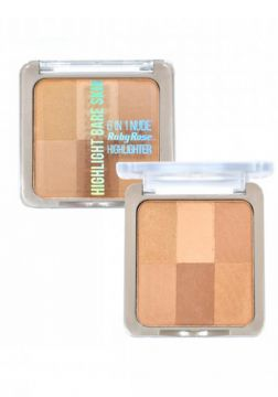 Pó Iluminador Bare Skin By Ruby Rose Hb-7214 Cor 02