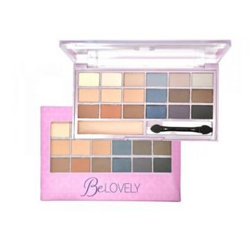Paleta De Sombras Be Lovely Ruby Rose Hb9932