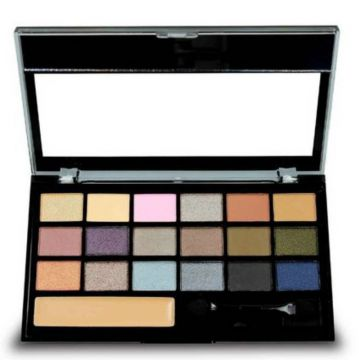 Paleta De Sombras Be Gorgeous Ruby Rose Hb9916