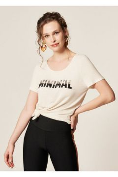 T-shirt Estampa Minimal - Mob