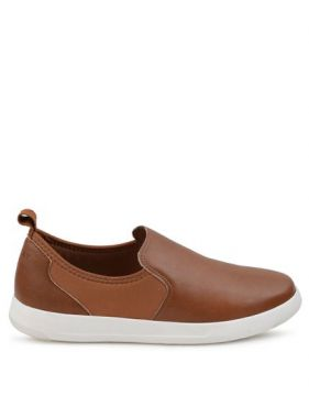 Tênis Slip On Light Royal Comfort Tan - Mr Cat