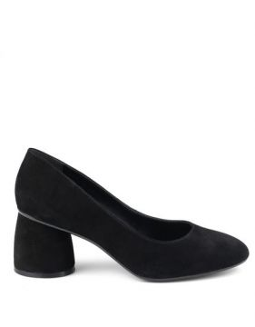 Scarpin Arredondado Preto - Mr Cat