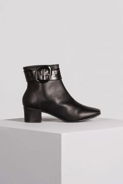 Ankle Boot Cosy Mundial Sint - Preto