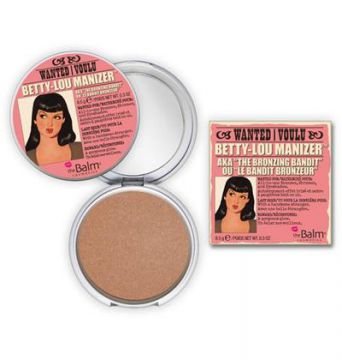 Betty-lou Manizer The Balm - Pó Compacto Bronzeador - Bronze