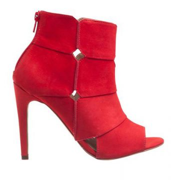 Open Boot Vermelho - My Shoes