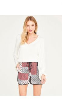 Short Esportivo Crepe - Shoulder