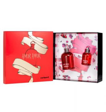 Cacharel Amor Amor Xmas Kit - Perfume 100ml + Perfume 30ml -
