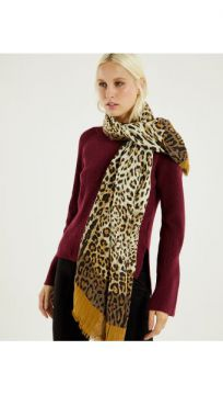 Lenco Animal Print Camel - Shoulder