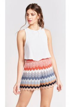 Short Chevron Color - Pop Up