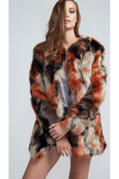 Maxi Casaco Faux Fur - Pop Up