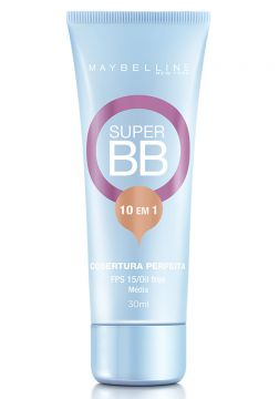 Super Bb Cream Maybelline Médio Fps 15 30ml - Netshoes