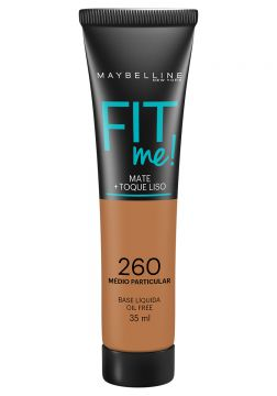 Maybelline Base Líquida Fit Me Cor 260