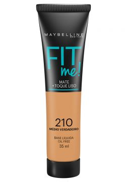 Maybelline Base Líquida Fit Me Cor 210