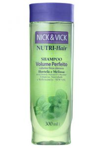 Nick&Vick Nutri-Hair Volume Shampoo | BelezanaWeb