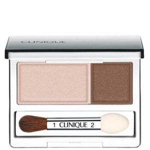 All About Shadows Ivory Bisque/bronze Satin Duo De Sombras