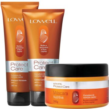 Lowell Protect Care Tratamento Kit (3 Produtos)