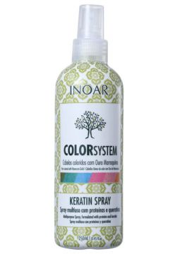 Spray Inoar Color System Keratin