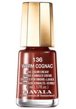 Esmalte Mavala Mini Colours Warm Cognac N136