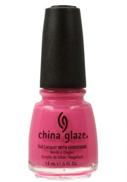 Esmalte China Glaze Shocking Pink Matte