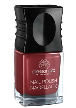 Esmalte Alessandro Nail Polish Sophisticated Red
