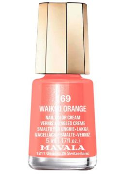 Esmalte Mavala Art Colours Waikiki Orange Cremoso