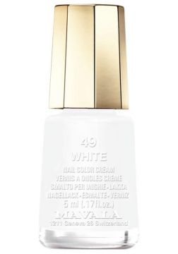 Esmalte Mavala Mini Colours White Cremoso
