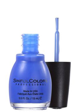 Esmalte SinfulColors Endless Blue Cremoso