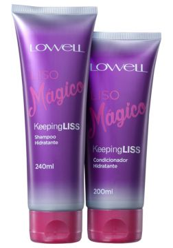 Lowell Keeping Liss Liso Mágico Kit