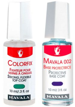 Kit Mavala Protective Base Coat & Colorfix