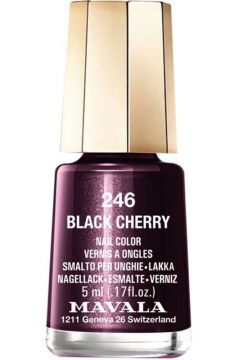 Esmalte Mavala Mini Colours Black Cherry Cintilante