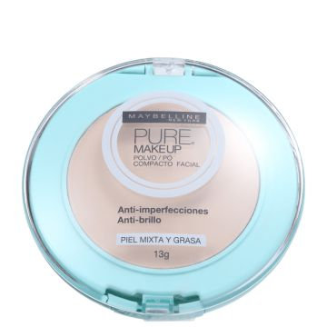 Pó Compacto Maybelline Pure Makeup Natural