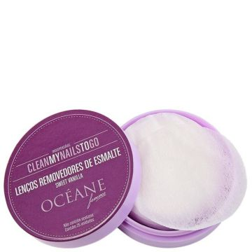 Removedor Océane Clean My Nails Sweet Vanilla