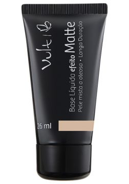 Base Líquida Vult Make Up Efeito Matte