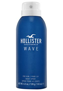 Body Spray Wave For Him Hollister