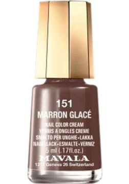 Esmalte Mavala Mini Colours Marron Glacé Cremoso