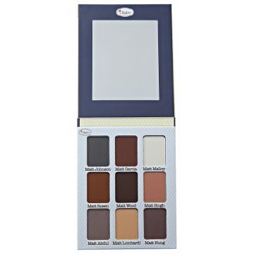 Paleta de Sombras the Balm Meet Matt(e)