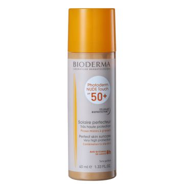 Protetor Solar Bioderma Nude Touch FPS50