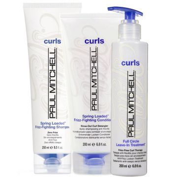 Kit Paul Mitchell Curls Spring Loaded Full Circle