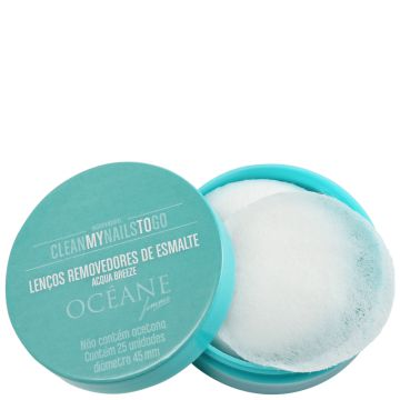 Removedor Océane Clean My Nails Acqua Breeze