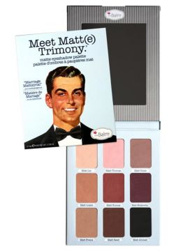 the Balm Meet Matte Trimony Paleta Sombra