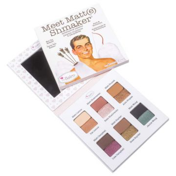 The Balm Meet Matt(e) Shmaker - Paleta De Sombras 9,3g