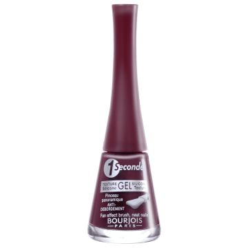 Bourjois 1 Seconde Gel T12 Rouge Velvet - Esmalte Cremoso 8m