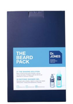 Kit Dr. Jones The Beard Pack (2 Produtos)