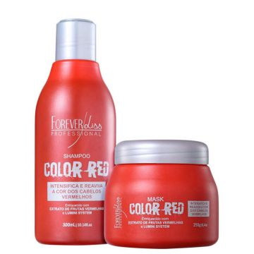 Kit Forever Liss Professional Color Red Duo (2 Produtos)