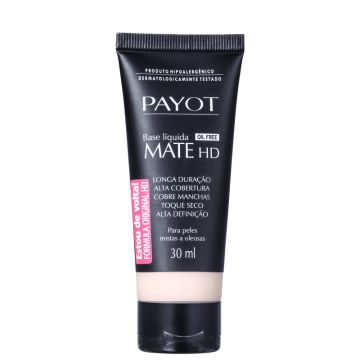Payot Mate Hd Claro 1 - Base Líquida 30ml