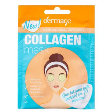Dermage Collagen - Máscara Facial 10g