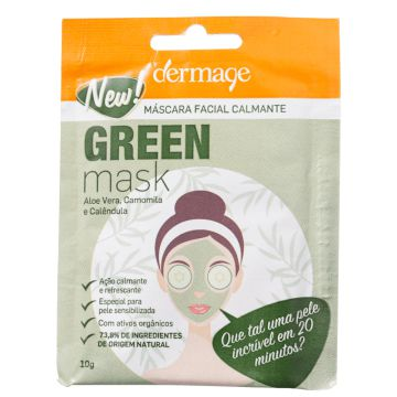 Dermage Green - Máscara Facial 10g