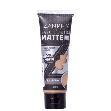 Zanphy Matte Hd 04 Bege Claro - Base Líquida 30ml