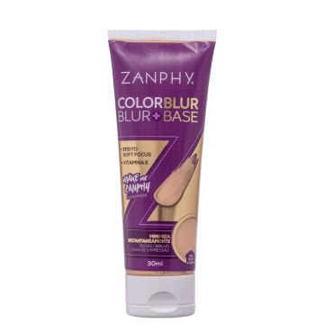 Zanphy Color Blur Bege Claro - Base 2 Em 1 30ml